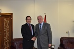 Dr. Malki, bid farewell to the Russian Ambassador to the State of Palestine on the end of his duties