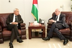 Minister Dr. Malki receives head of land Authority and discusses a number of joint cooperation issues