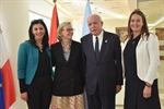 Minister Dr. Malki receives a delegation from the Swedish Foreign Ministry