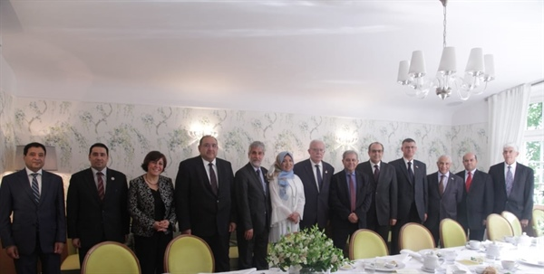 Minister Dr. Malki meets with Arab ambassadors in Warsaw and updates them of political developments