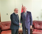 Malki praises the Cyprus stance in support of the Palestinian people in various fields