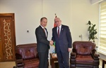 Malki receives the representative of Japan as part of the preparations for the Conference on Cooperation among East Asian Countries for Palestinian Development (CEAPAD)