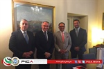 To Be Implemented by the Palestinian International Cooperation Agency (PICA). The State of Palestine and the Sovereign Order of Malta (SOM) Agree on Cooperation Program