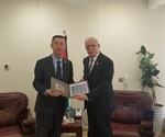 Malki meets the ambassador of the People's Republic of China Mr. Guo Wei