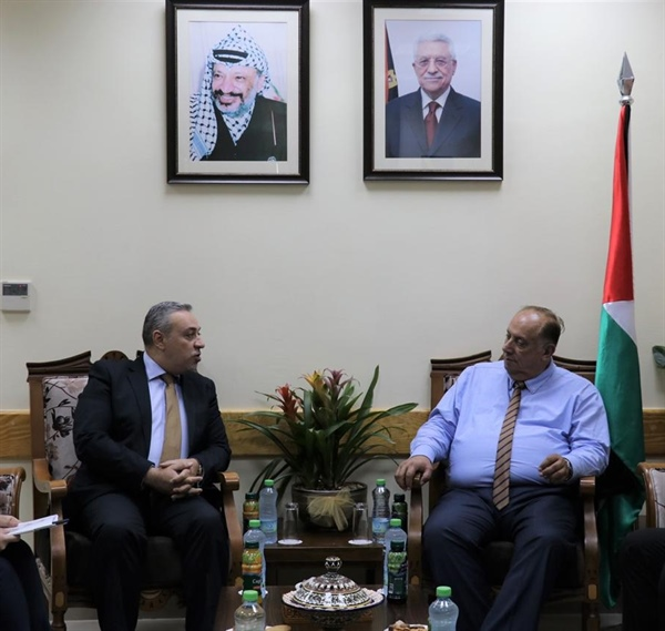 The Ministry of Higher Education and Scientific Research and the Palestinian International Cooperation Agency (PICA) Discuss Cooperation Programs