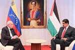 Venezuelan President Affirms his Country's Unconditional Support to Palestinian Cause