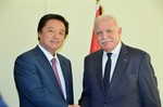Malki receives the Japanese parliamentary delegation, headed by Chairman of the Committee on Foreign Affairs and updates him of the current situation in Palestine