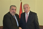 Minister Dr. Malki receives a copy of the credentials of the representative of the Republic of Nicaragua accredited to the State of Palestine