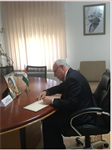 Minister Dr. Malki sends his condolences to his Indian counterpart's for the death of India's Former Foreign Minister