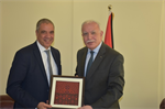 Minister Dr. Malki bids farewell to the European Union representative to the State of Palestine