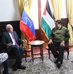 Venezuelan President Maduro renews his country's commitment to support  and stand with the Palestinian people