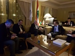 Dr. Malki meets his Lebanese counterpart and informs him about the latest developments
