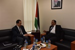 Ambassador Shamieh meets with the Ambassador of the Arab Republic of Egypt to the State of Palestine