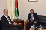 Ambassador Shamieh meets with the acting director of the Australian Representative Office