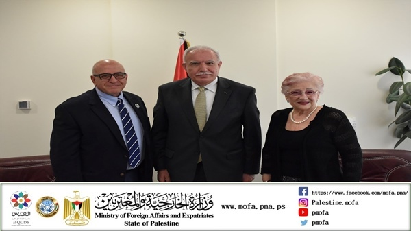 Foreign Minister Malki Welcomes Know Your Heritage Delegation